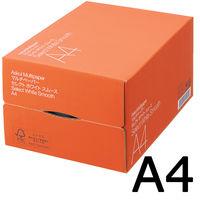 コピー用紙 マルチペーパー セレクト ホワイト スムース A4 1箱(5000枚:500枚入×10冊) 高白色 国内生産品 FSC認証 アスクル