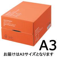 コピー用紙 マルチペーパー セレクト ホワイト スムース A3 1箱(2500枚:500枚入×5冊) 高白色 国内生産品 FSC認証 アスクル