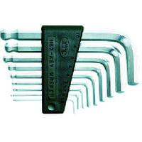 京都機械工具 ハイグレードボールポイントL型スタンダード六角棒レンチセット[9本組] HLD2009 1セット 373-5010 (直送品)