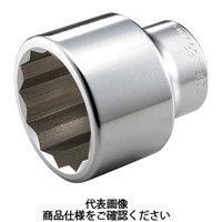 TONE(トネ) ソケット(12角) 75mm 8D-75 1個 122-3496 (直送品)