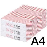 コピー用紙 マルチペーパー セレクト ホワイト スムース A4 1セット(1500枚:500枚入×3冊) 高白色 国内生産品 FSC認証 アスクル