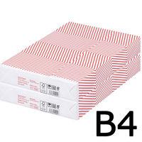 コピー用紙 マルチペーパー セレクト ホワイト スムース B4 1セット(1000枚:500枚入×2冊) 高白色 国内生産品 FSC認証 アスクル