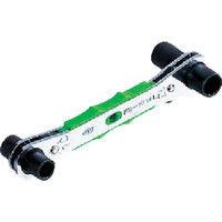 京都機械工具 KTC 4サイズ板ラチェットレンチ(ロング)8×12・10×13mm MR0813L 1丁 373ー6351 (直送品)