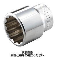 TONE TONE ソケット(12角) 24mm 6D24 1個 122ー2821 (直送品)