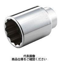TONE TONE ディープソケット(12角) 22mm 6D22L 1個 122ー4026 (直送品)