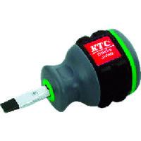 京都機械工具 KTC 樹脂柄スタッビドライバ マイナス6mm D1MS6 1本 373ー3602 (直送品)