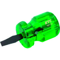 京都機械工具 KTC 樹脂柄スタッビドライバ マイナス6mm SD1M 1本 373ー7829 (直送品)