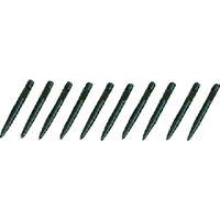 京都機械工具 KTC スナップリングプライヤ先端クローセット 直型Ф2.0ロング[10本組] SPC110L  373ー8302 (直送品)