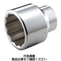 TONE(トネ) ソケット(12角) 60mm 8D-60 1個 122-3194 (直送品)