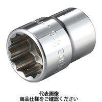 TONE(トネ) ソケット(12角) 吋目 3/4inch 3DB-24 1個 369-4933 (直送品)