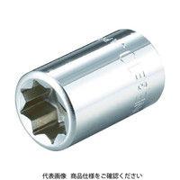 TONE TONE ソケット(8角) 8mm 3E08 1個 369ー4984 (直送品)