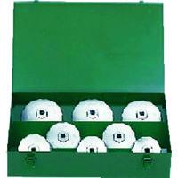 京都機械工具 KTC カップ型オイルフィルタレンチセット[8コ組] AVSA08A 1セット 373-0689 (直送品)