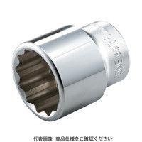 TONE TONE ソケット(12角) 30mm 6D30 1セット(1個入) 122ー3127 (直送品)