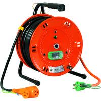 日動工業 電工ドラム びっくリール 100V アース漏電しゃ断器付 30m NL-EB30S 1台 125-5584 (直送品)