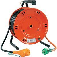 日動工業 日動 電工ドラム びっくリール 100V アース付 30m NLE30S 1台 125ー5517 (直送品)