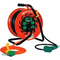 日動工業 マジックびっくリール アース漏電遮断器付き30m RZ-EB30S 1台 368-6655 (直送品)