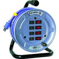 日動工業 日動 電工ドラム スイッチリール 100V 2芯 10m SW104 1台 209ー8890 (直送品)