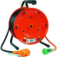 日動工業 日動 電工ドラム びっくリール 100V アース付 20m NLE20S 1台 125ー5509 (直送品)