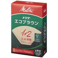 メリタジャパン エコフィルターペーパー 1×2サイズ 1セット(300枚:100枚入×3箱)