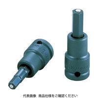 TONE(トネ) ヘキサゴンソケット(マグネット付) 4mm 3KH-04K 1個 369-5174 (直送品)