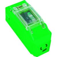 日動工業 日動 プラコンインポッキンブレーカ 100V 抜止コンセント付 漏電遮断器付 PIPBEBN 1個 360ー4101 (直送品)