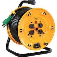 日動工業 日動 電工ドラム 標準型100Vドラム アース付 30m NPE34 1台 125ー5614 (直送品)