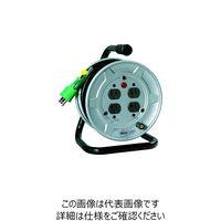 日動工業 電工ドラム 標準型100Vドラム アース付 10m NS-E14 1台 209-8938 (直送品)