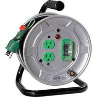 日動工業 日動 電工ドラム 標準型100Vドラム アース漏電しゃ断器付 10m NSEB12 1台 209ー8946 (直送品)