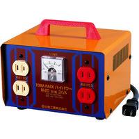 日動工業 日動 変圧器 昇圧器ハイパワー 2KVA 2芯タイプ M20 1台 125ー7595 (直送品)
