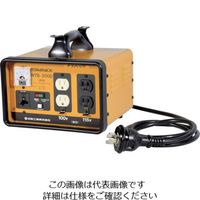 日動工業 日動 変圧器 降圧専用トラパック 2KVA NTB200D 1台 125ー7757 (直送品)
