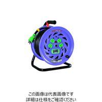 日動工業 日動 電工ドラム 標準型100Vドラム アース漏電しゃ断器付 30m NFEB34 1台 125ー5665 (直送品)
