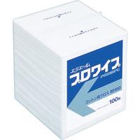 大王製紙 プロワイプ コットンRクロス M100 30パック入 623221 1ケース(3000枚) 335-2901 (直送品)