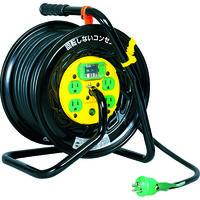 日動工業 日動 電工ドラム マジックリール 100V アース漏電しゃ断器付 30m ZEB34 1台 164ー5129 (直送品)