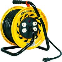 日動工業 日動 電工ドラム マジックリール 100V 2芯 30m Z304D 1台 164ー5102 (直送品)