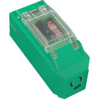 日動工業 日動 プラコンインポッキンブレーカ 抜止コンセント付 過負荷漏電遮断器付 PIPBEKN 1個 360ー4110 (直送品)