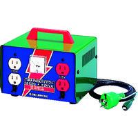 日動工業 日動 変圧器 昇圧器ハイパワー 2KVA アース付タイプ ME20 1台 125ー7609 (直送品)