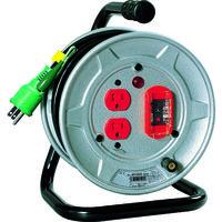 日動工業 日動 電工ドラム 標準型100Vドラム アース過負荷漏電しゃ断器付 10m NSEK12 1台 209ー8954 (直送品)