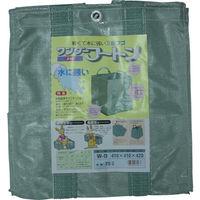 ユタカメイク(Yutaka) 収集袋 ワンダーフートン 41×41×42 70リットル W-9 1個 367-8024 (直送品)