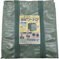 ユタカメイク(Yutaka) 収集袋 ワンダーフートン 55×55×60 180リットル W-11 1枚 367-8008 (直送品)