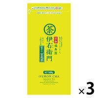 宇治の露製茶 伊右衛門徳用抹茶入り玄米茶 1セット(500g×3袋)