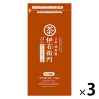 宇治の露製茶 伊右衛門徳用炒り米入りほうじ茶 1セット(500g×3袋)