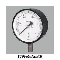 長野計器 普通形圧力計(屋内・一般用)φ75 立形 AC10-231-0.1MP 1個 (直送品)