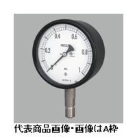 長野計器 密閉形圧力計(屋外・一般用)φ60 埋込形 1個 (直送品)