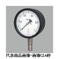 長野計器 密閉形圧力計(屋外・耐食用)φ60 埋込形 1個 (直送品)