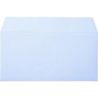 ムトウユニパック ナチュラルカラー封筒 長3横型 アクア 1000枚(100枚×10パック)