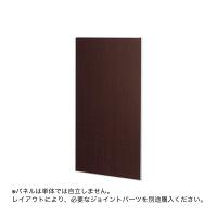 トーカイスクリーン E-PLACEパネル ダーク木目調 幅700mm 高さ1615mm用 1枚