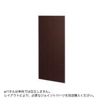 トーカイスクリーン E-PLACEパネル ダーク木目調 幅700mm 高さ1870mm用 1枚 (取寄品)