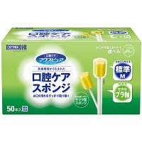 川本産業 口腔ケアスポンジ プラスチック軸 M 1箱(50本入)