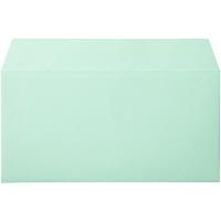 ムトウユニパック ナチュラルカラー封筒 長3横型 グリーン 1000枚(100枚×10パック)