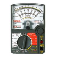 三和電気計器 アナログマルチテスタ SP21/C ハードケース付 1台 (直送品)